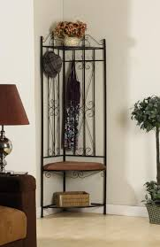 Black Hall Tree Bench Corner Hall Tree Racks Will Work Wonders When A Basic Option Is