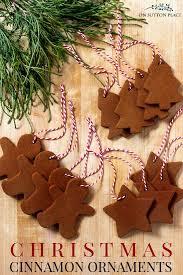 no bake cinnamon applesauce ornaments recipe