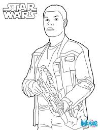 finn star wars coloring pages hellokids com