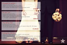 wedding photographers prices hallo gays wedding photography packages