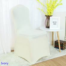 ivory spandex chair covers buy ivory chair covers and get free shipping on aliexpress