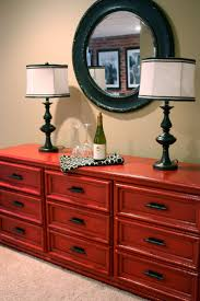 Furniture Ideas Best 25 Red Painted Dressers Ideas Only On Pinterest Red