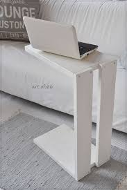 laptop table for couch ikea home decor laptop table for the couch made of pallets made by art