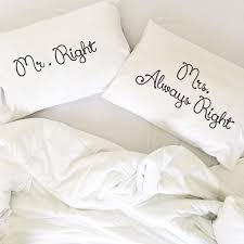 his and hers pillow cases best 25 pillowcase ideas on couples