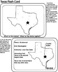 trace the outline of texas worksheets geography and shapes