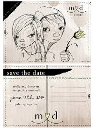 Creative Save The Dates Murray Save The Dates