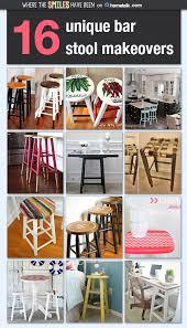 16 unique bar stool makeovers