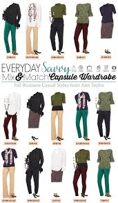business casual business casual capsule wardrobe for work