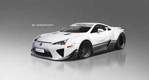 lexus lfa or audi r8 lexus lfa with rwb bodykit gets our tick of approval