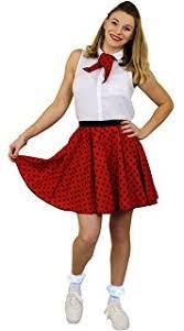 i love fancy dress ilfd7033ps ladies short polka dot skirt length