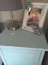 Ikea Hemnes Nightstand Blue Rustoleum Chalk Paint Refurbished Ikea Hemnes Nightstand Chalk
