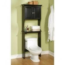 Bathroom Toilet Cabinets Black Bathroom Space Saver Over Toilet Foter