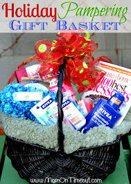 Gift Idea For Mom Holiday Pampering Gift Basket Idea Basket Ideas Gift And Father