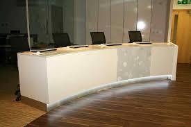 Reclaimed Wood Reception Desk Curved Reception Desk Design Hangzhouschool Info
