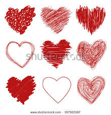 scribble heart stock images royalty free images u0026 vectors