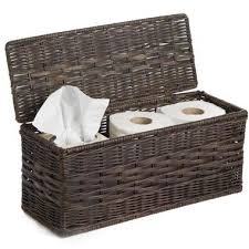 Wicker Basket Bathroom Storage Decorative Bathroom Storage Baskets The Basket