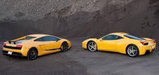 v lamborghini lamborghini supercars 458 italia vs lamborghini gallardo