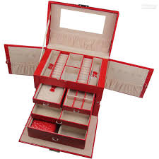 jewellery box rings images 2018 crocodile luxury jewelry boxes drawer locker rings four jpg