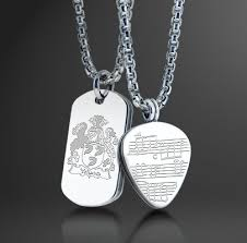 custom engraved necklaces online custom engraving now available for mens jewelry and