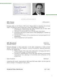 fun resume cv example 2 of a resume example