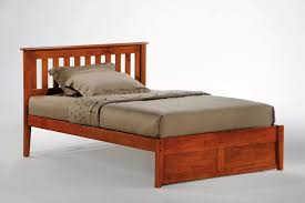 twin platform bed with headboard style beds oak night and day