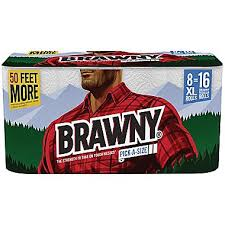 brawny paper towels 8 xl rolls pick a size 2 ply 140 sheets roll
