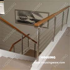 Wooden Handrail China Stainless Steel Stair Railing With Wooden Handrail China