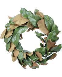 magnolia leaf wreath great deal on artificial magnolia leaf wreath