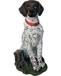 deal alert german shorthaired pointer outdoor statue