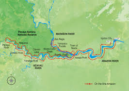 Mekong River Map Peru Map Amazon River Map Amazon Cruise Map Aqua Expeditions