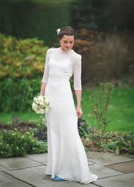 wedding dresses cork modern vintage bunty column dress with low back sell my