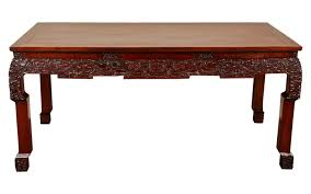 19th century chinese rosewood carved table traditional asian