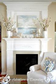 Exciting How To Decorate Fireplace Mantel Ideas 14 For Image With