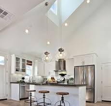 pendant lights for vaulted ceilings kitchen lighting vaulted ceiling kutskokitchen