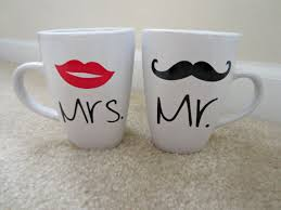 his and hers mug his and hers coffee mug set mr and mrs mugs by thelovelyprint