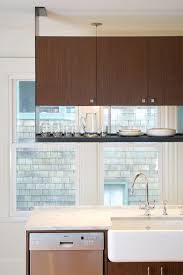 Vaughan Residence Contemporary Kitchen Seattle By BAAN Design - Kitchen hanging cabinet