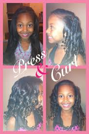 american n wavy hairstyles 20 best natural hairstyles for kids press and curl images on