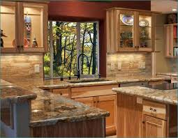 what paint color goes best with hickory cabinets what countertop would look with hickory cabinets
