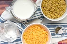 one pot macaroni cheese