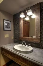 Cabin Bathroom Mirrors by Small