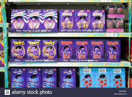 easter eggs sale easter eggs on sale supermarket stock photo royalty free image