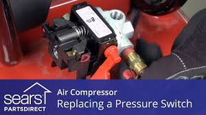 how to replace an air compressor pressure switch youtube