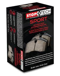 lexus is250 awd brake pads amazon com stoptech 309 09080 street performance front brake pad