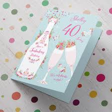 personalised birthday cards upload photo floral thank you cards