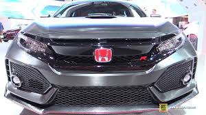 Price Of Brand New Honda Civic 2017 Honda Civic Type R Exterior And Interior Walkaround 2016
