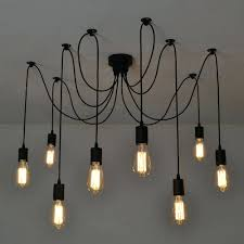 diy sputnik chandelier chandeliers design marvelous led chandelier lights filament bulb