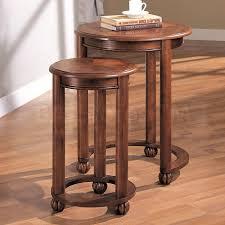 round nesting tables leg modern table design