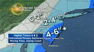 Map Of Wildwood Nj Parts Of New Jersey Bracing For Snow Cbs Philly