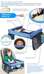 Baby Chair Clips Onto Table Snack And Play Travel Tray For The Car Use With Car Seat