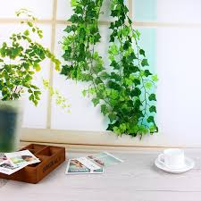 Home Decoration Plants by Online Get Cheap Plastic Plant Leaves Aliexpress Com Alibaba Group